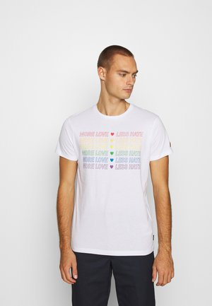 UNISEX PRIDE GENTRY - T-shirts print - off-white