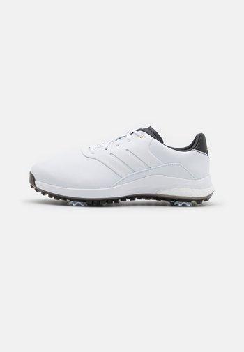 PERFORMANCE CLASSIC - Golfové boty - footwear white/gold metallic/core black