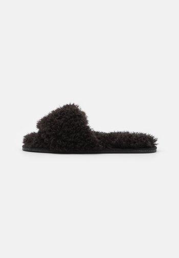 SILENT LIFE - Slippers - black