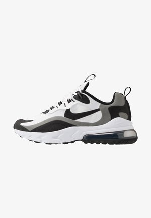 AIR MAX 270 REACT - Sneaker low - white/black/metallic pewter