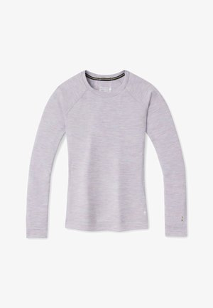 MIDWEIGHT 250 BASELAYER CREW - Long sleeved top - purple eclipse heather