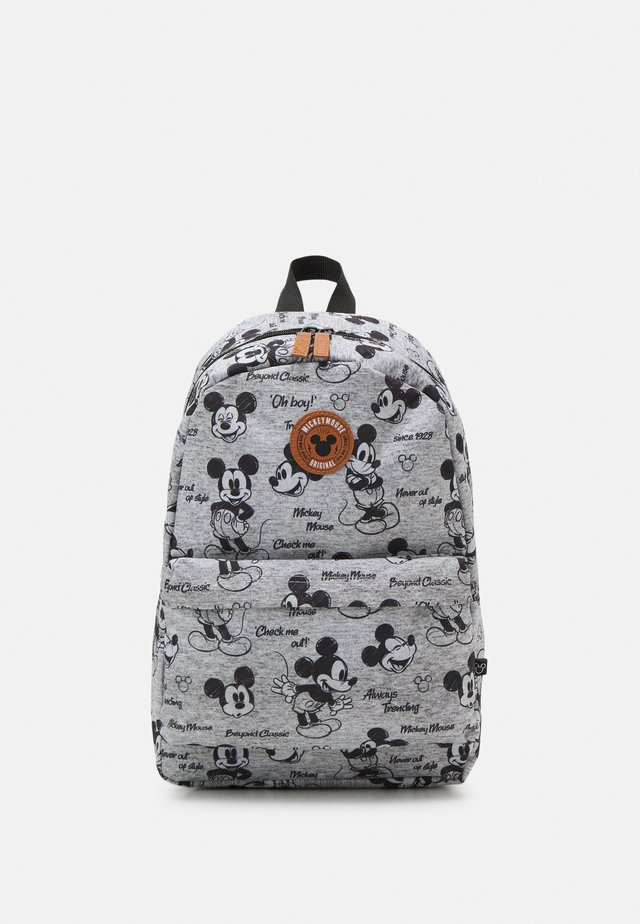 BACKPACK MICKEY MOUSE NEVER OUT OF STYLE LARGE UNISEX - Rugzak - grey