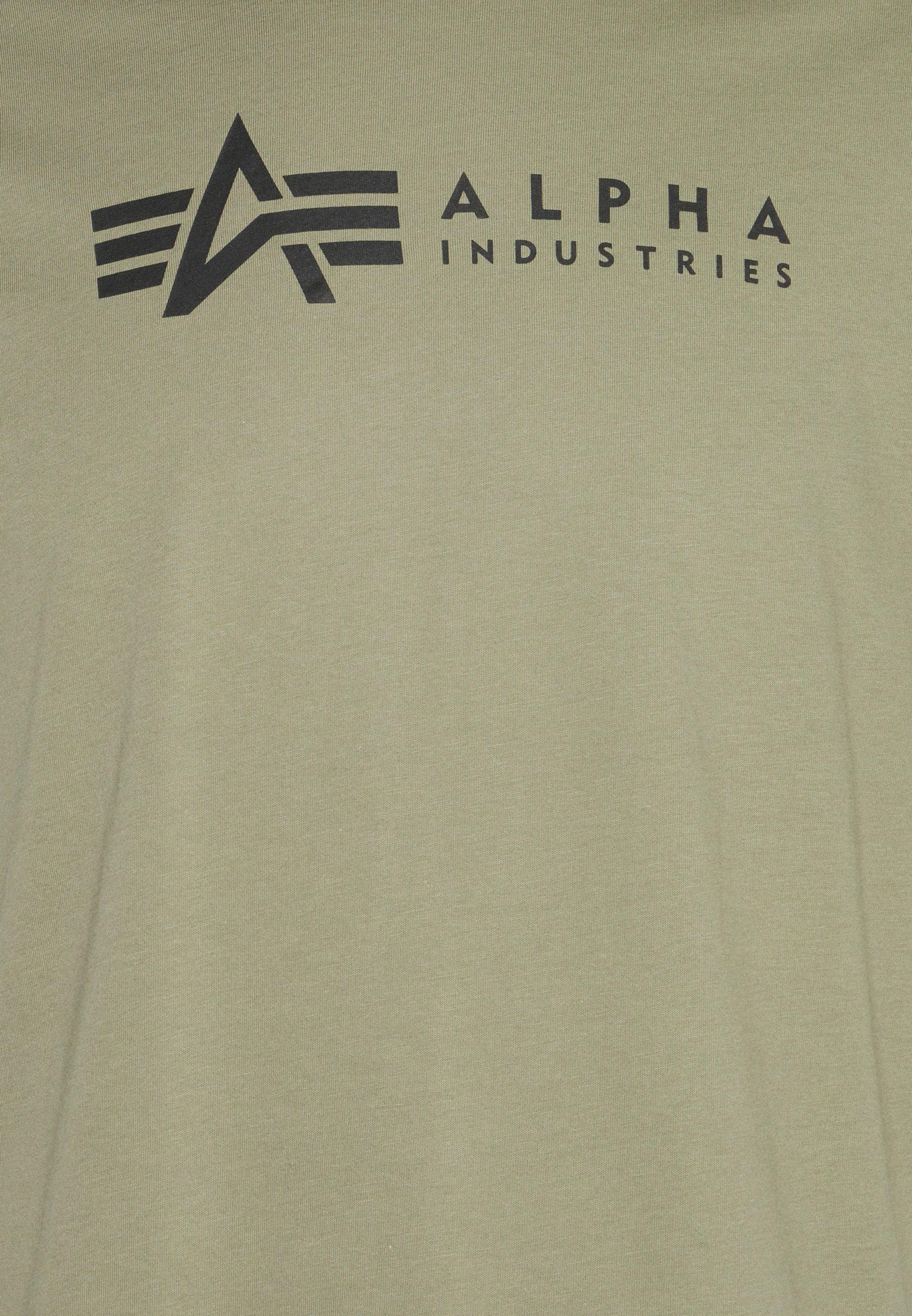 Men ALPHA LABEL 2 PACK - Print T-shirt