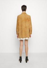 Alberta Ferretti - Button-down blouse - beige - 2