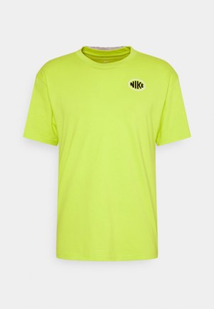 OVAL TEE UNISEX - T-shirt med print - cyber