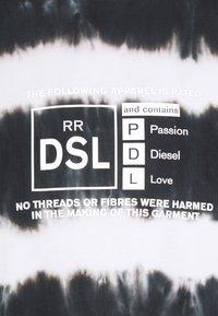 Diesel - T-JUST-A38 UNISEX - Print T-shirt - black - 2