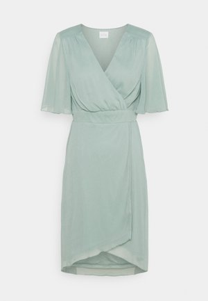 VIRILLA 2/4 SLEEVE DRESS - Cocktailkjole - jadeite