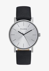 Pilgrim - Hodinky - silver-coloured/black - 1