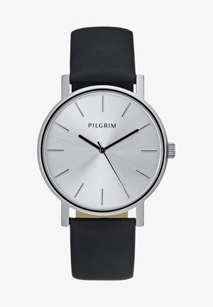 Watch - silver-coloured/black