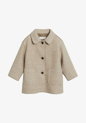 MIT REVERS - Winter coat - sandfarben