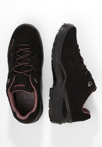 Lowa - SIRKOS GTX - Hiking shoes - schwarz/rose - 1