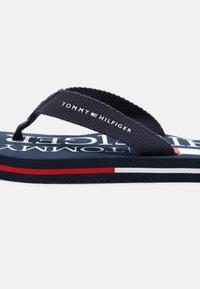 Tommy Hilfiger - UNISEX - T-bar sandals - blue - 4