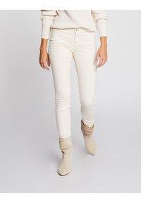 Morgan - Jeans Skinny Fit - white denim - 0