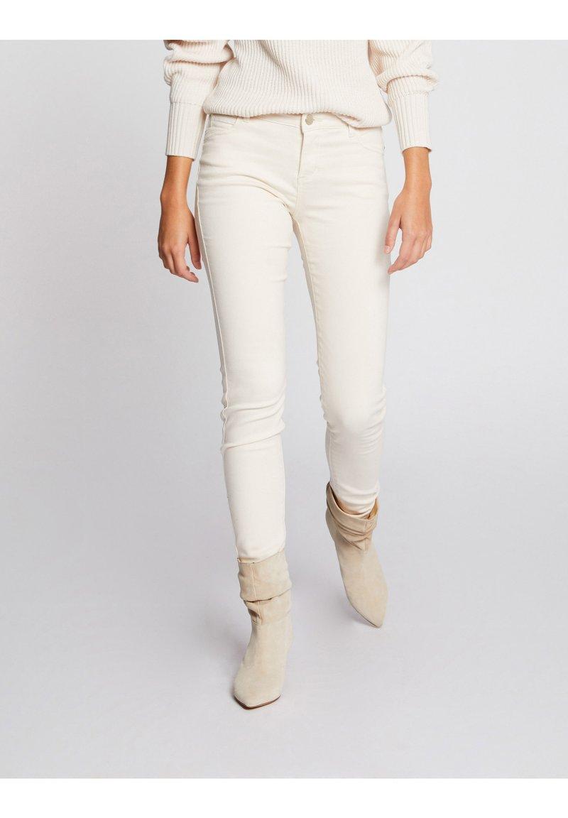 Morgan - Jeans Skinny Fit - white denim