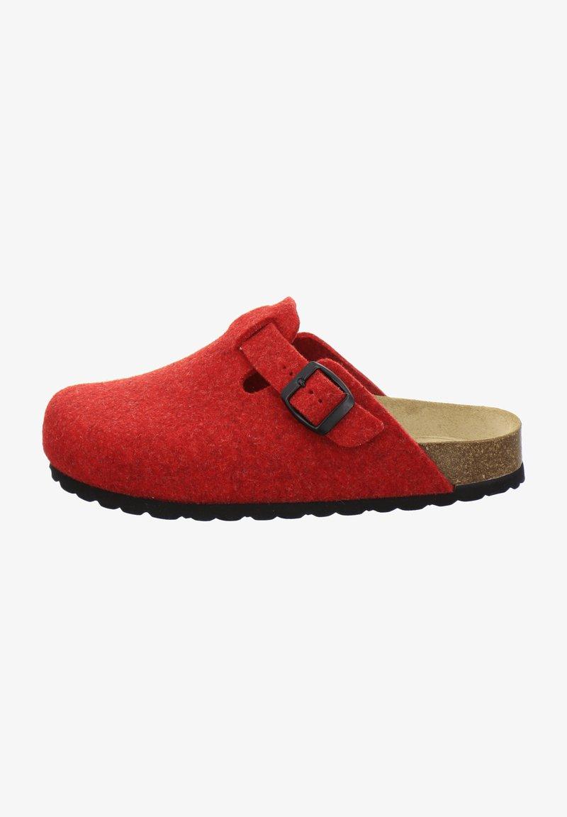 AFS Schuhe - FILZHAUSSCHUH - Slippers - rot