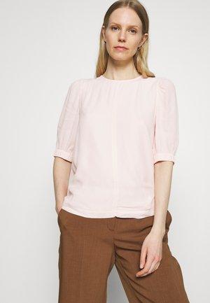 PLAIN PUFF SLEEVE - T-shirts - light pink
