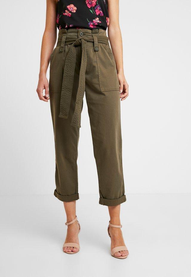 RORY UTILITY - Trousers - khaki