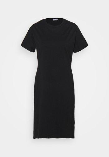 EFFIE DRESS - Žerzejové šaty - black