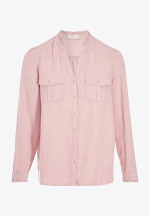 Button-down blouse - rose pastel