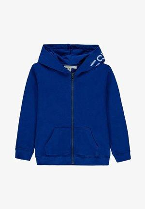 Zip-up sweatshirt - bright blue