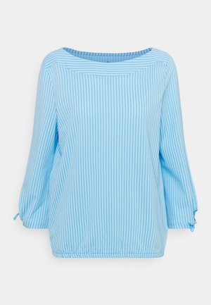 VERTICAL STRIPE - Blouse - blue/white