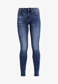 G-Star - 3301 HIGH SKINNY   - Jeans Skinny Fit - medium indigo aged - 6
