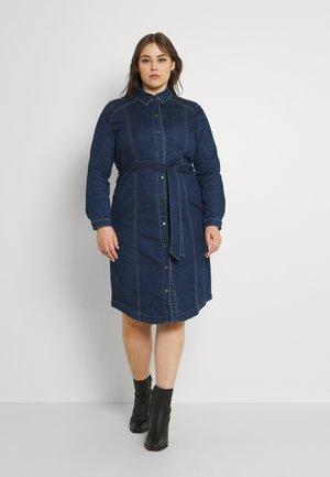CARCILA LIFE DRESS - Denim dress - dark blue denim