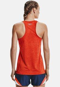 Under Armour - TECH TWIST DAMEN - Sports shirt - orange - 2