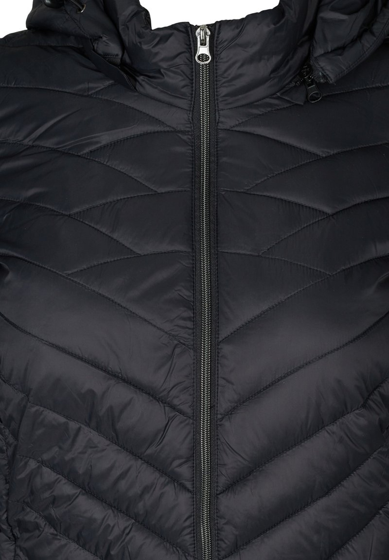 Zizzi Wintermantel - black/schwarz xiH68g