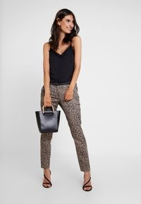 comma - Trousers - taupe - 1
