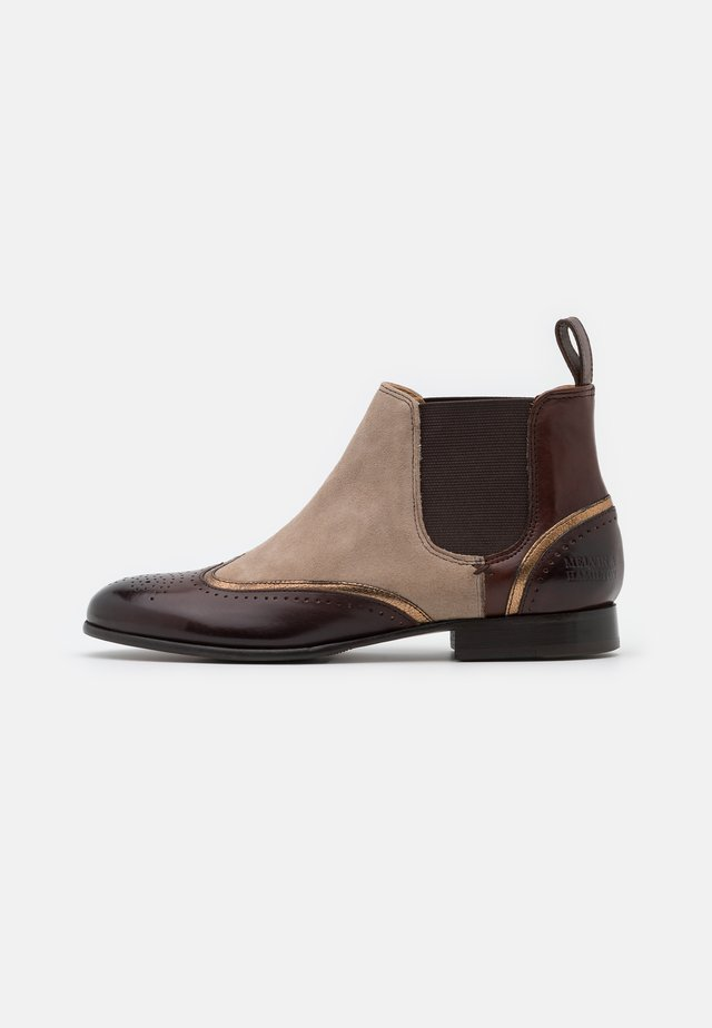 SALLY  - Ankle boots - chestnut/aztek/bronze/elephant/dark brown/rich tan