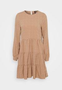 VMHELENA SHORT DRESS - Denní šaty - beige