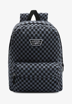 WM REALM CANVAS BACKPACK - Rucksack - cement blue