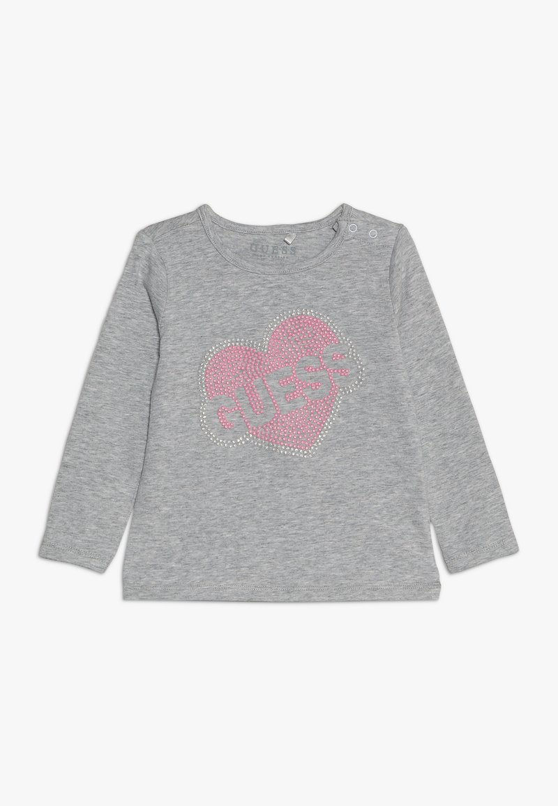 Guess - BABY - Long sleeved top - light heather grey