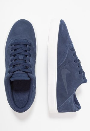 CHECK - Trainers - midnight navy/black/summit white