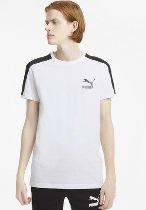 ICONIC  - Print T-shirt - puma white