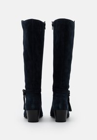 Anna Field Wide Fit - LEATHER - Boots - dark blue - 3