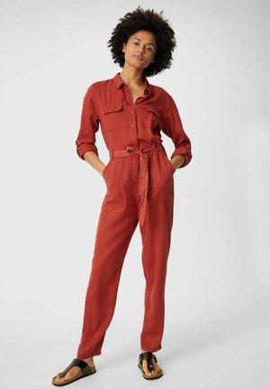 Jumpsuit - dark red