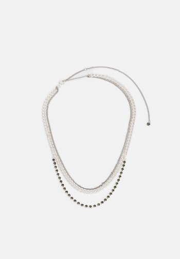 MIRA NECKLACE - Necklace - silver-coloured