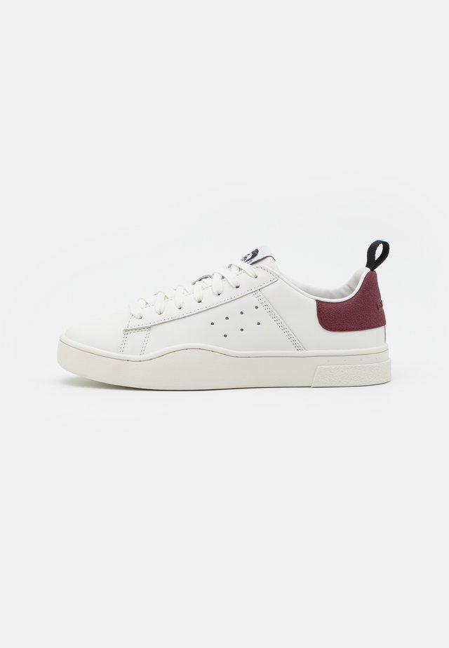 CLEVER S-CLEVER LOW SNEAKERS - Sneakers basse - white/tawny red