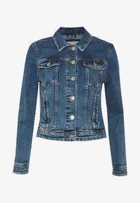 ONLTIA JACKET - Denim jacket - medium blue denim