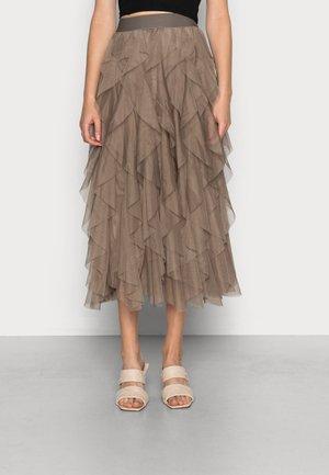 ONLSKY SKIRT - A-line skirt - walnut