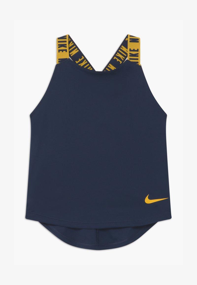 Nike Performance - DRY TANK ELASTIKA - Koszulka sportowa - obsidian/university gold