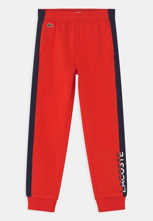 Tracksuit bottoms - redcurrant bush/navy blue