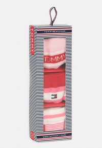 Tommy Hilfiger - GIFTBOX 3 PACK UNISEX - Socks - pink - 3