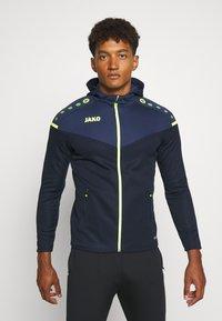 JAKO - CHAMP - Training jacket - marine/blue/neongelb - 0