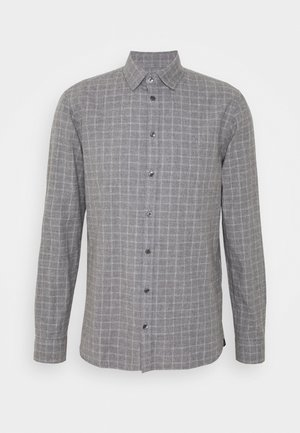 ANTON - Shirt - light grey melange