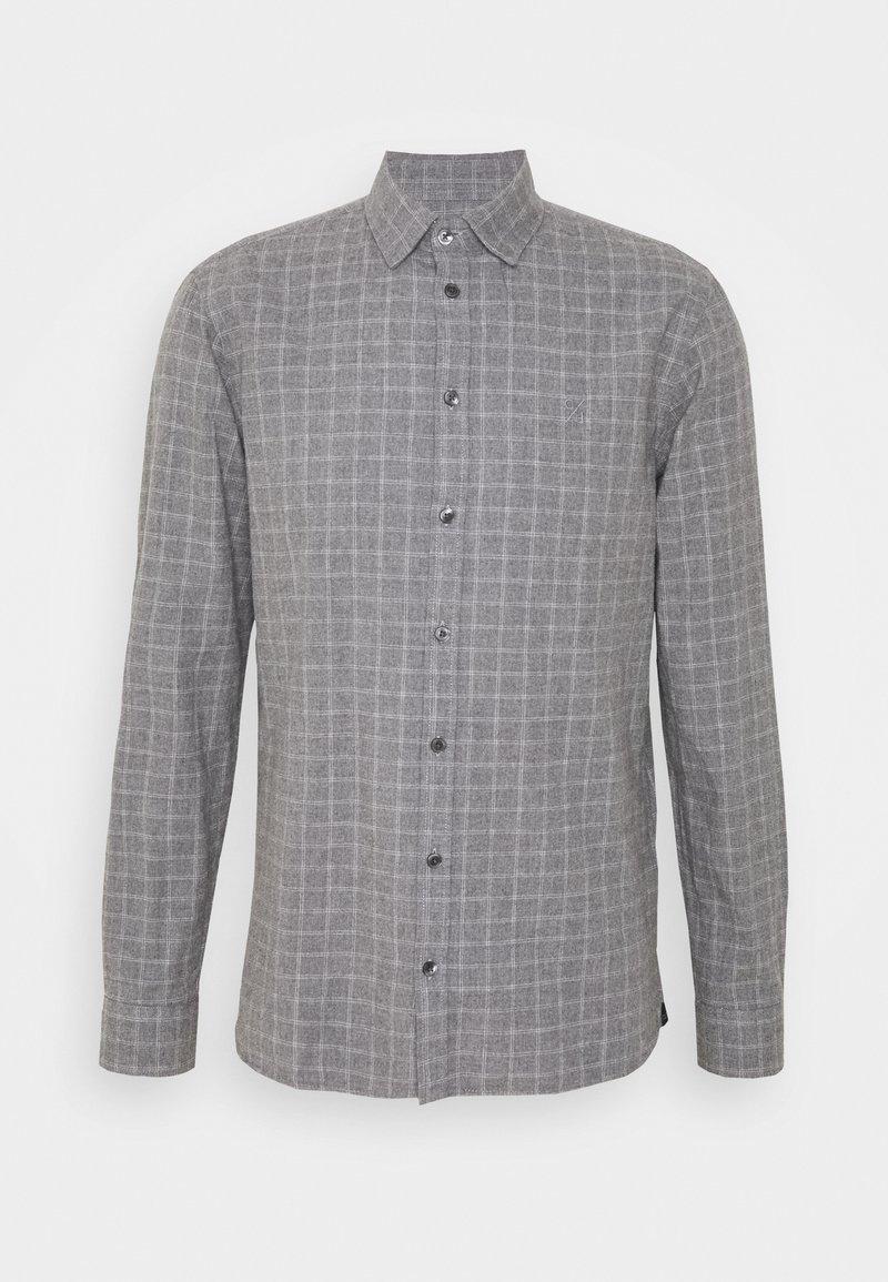 Casual Friday - ANTON - Shirt - light grey melange