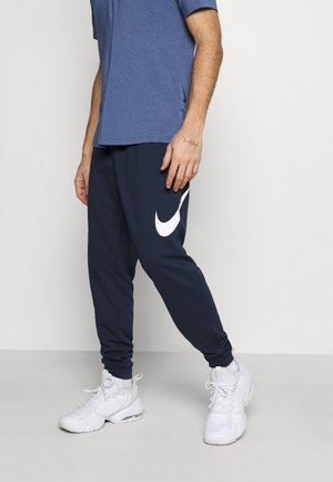 TAPER - Tracksuit bottoms - obsidian