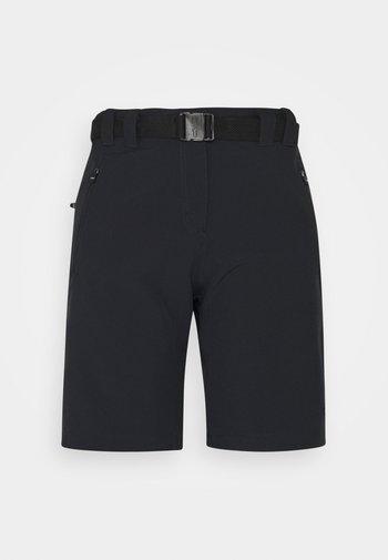 WOMAN BERMUDA - Outdoor shorts - antracite
